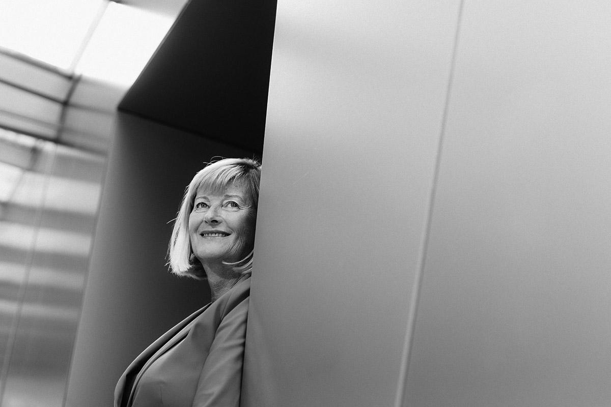 Rektorin der Universität Graz Christa Neuper Blick in die Zukunft
