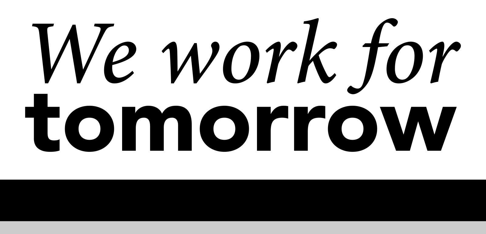 Universität Graz we-work-for-tomorrow Logo