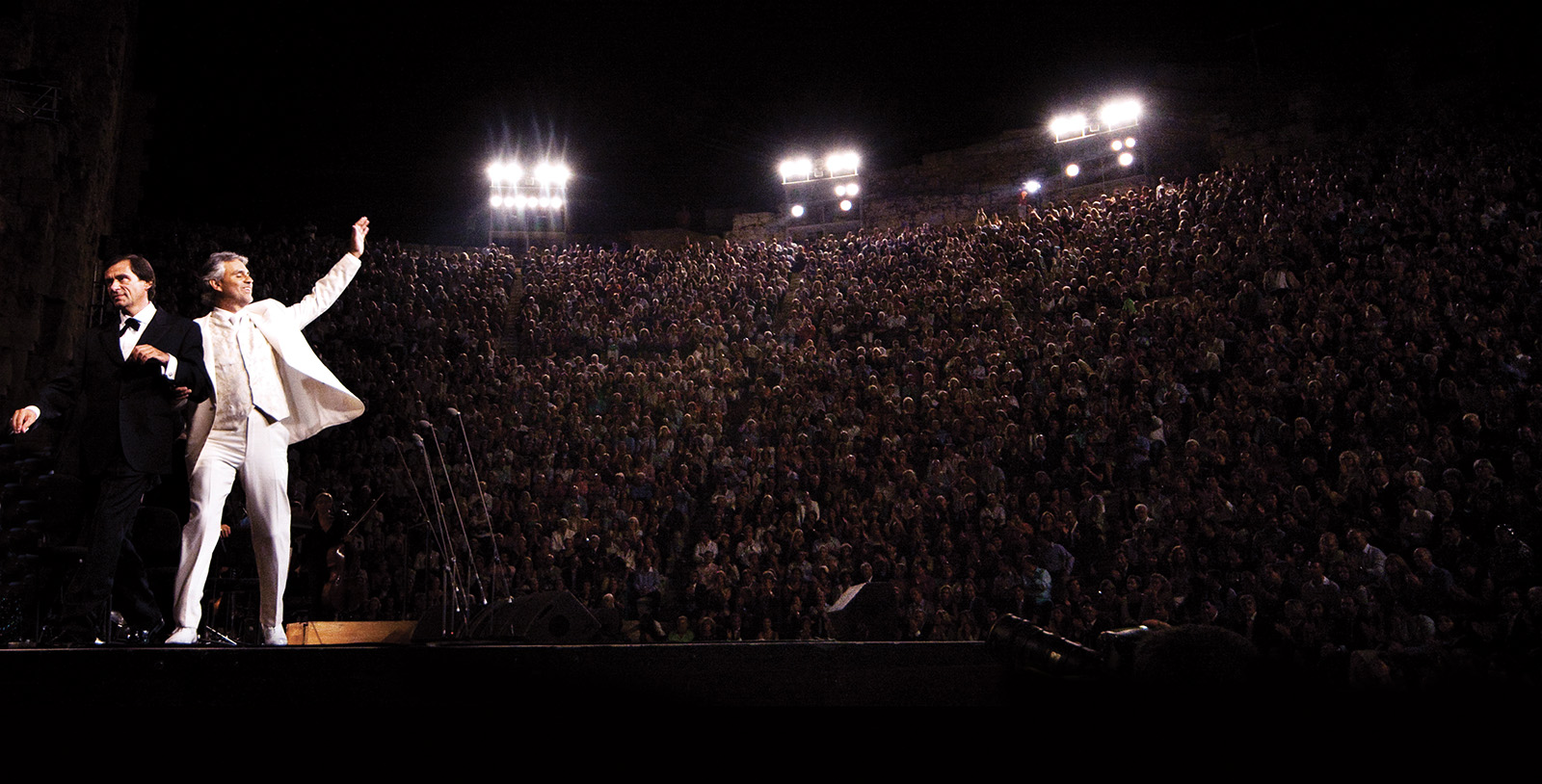Andrea Bocelli live in concert auf seiner Deutschlandtour