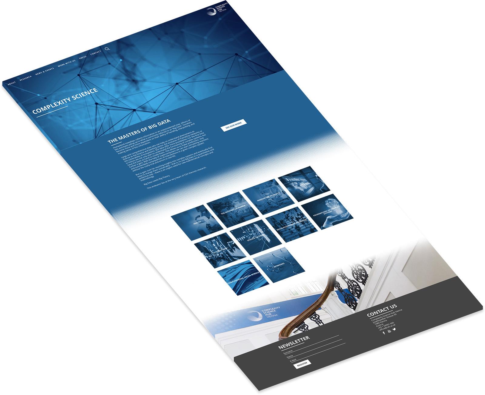 CSH Mockup Flyer blau
