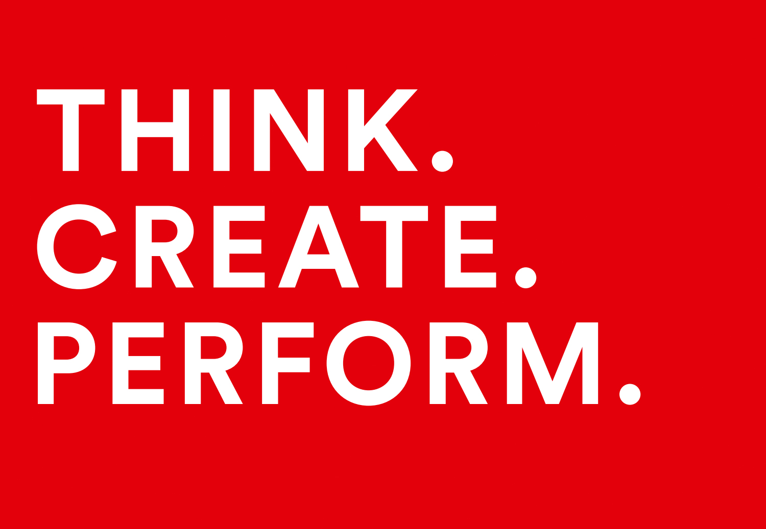 PMCC Consulting Slogan Think - Create - Perform